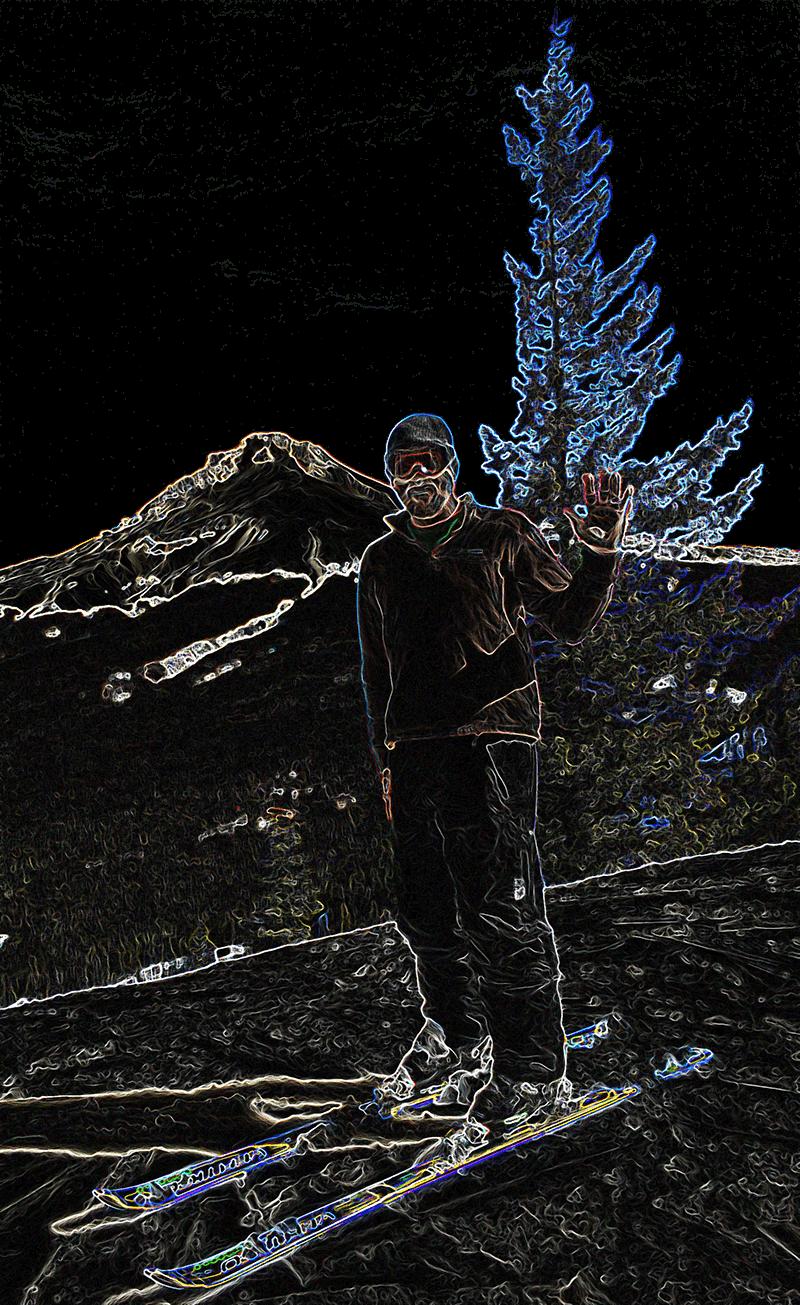 Chuck on Mt Hood